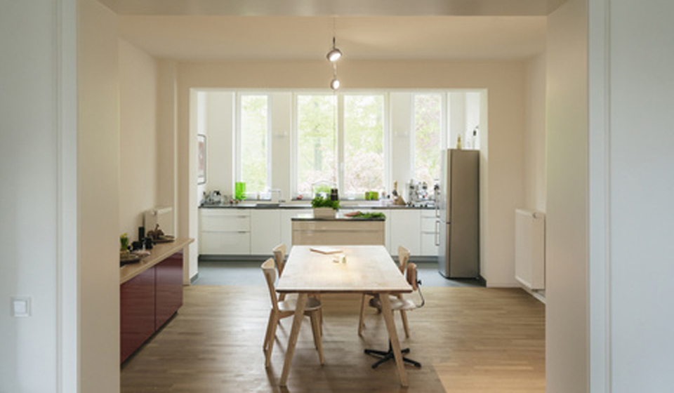 Trockenbau: Größe Räume sinnvoll trennen.
