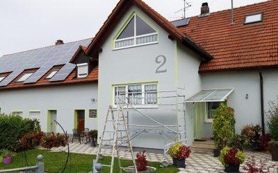 Fassaden wünschen sich mehr als Weiß und Hellgrau.